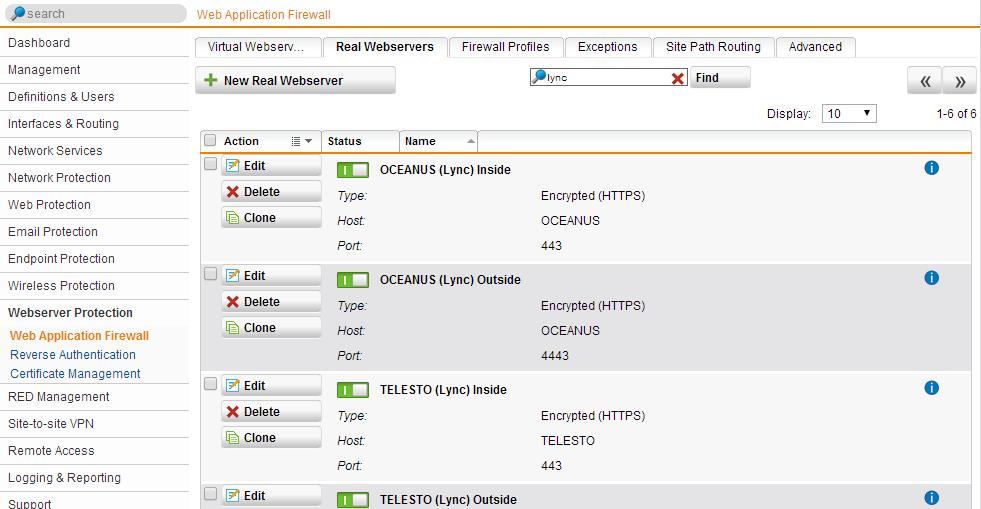 Sophos Utm As Reverse Proxy For Lync 2013 Gonzalo Escarrs Blog