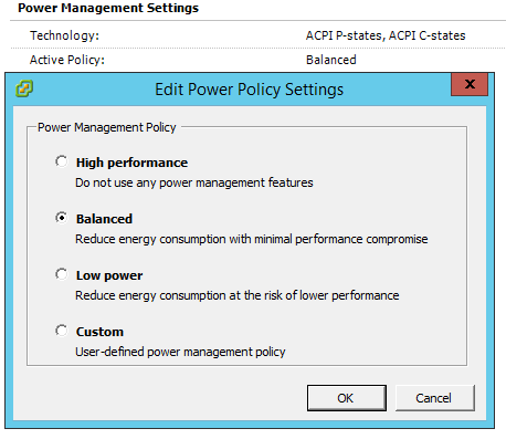 VMware Power Policy and CPU Ready latency – Gonzalo Escarrá's Blog