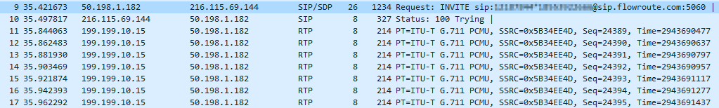 T 38 Fax over IP call on Wireshark | Gonzalo Escarrá's Blog